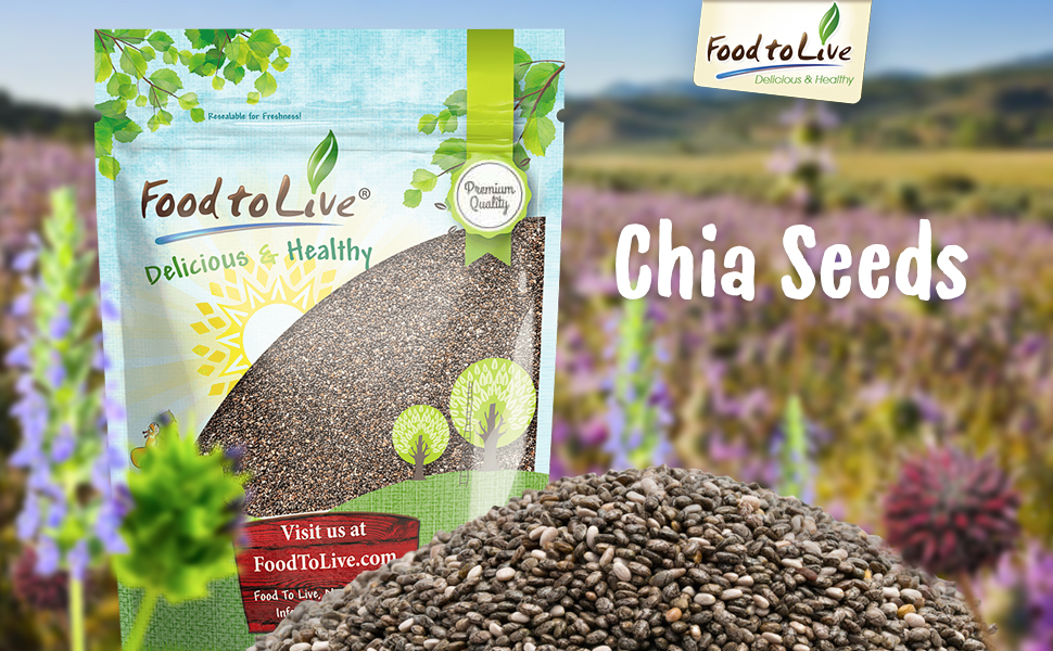 Alimentos a Live Chia semillas (50 libras): Amazon.com ...