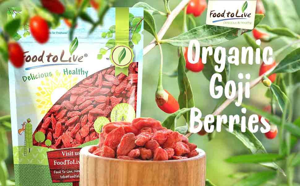 Bayas de Goji: Amazon.com: Grocery & Gourmet Food