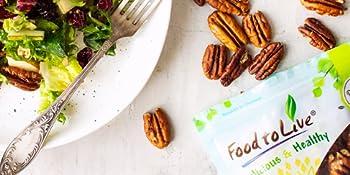 pecans, food to live