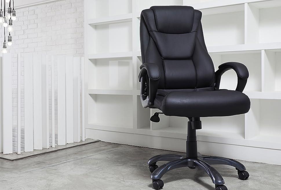 Amazoncom Crossford Furniture Co Executive LumbarSupport