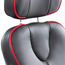 bosun, bosun chair, bosun executive chair, ergnomic chair, faux leather chair, stand steady