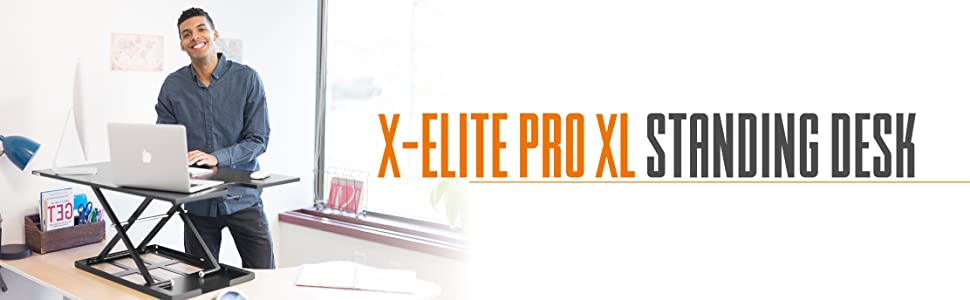 standing desk xelite xl x-elite x elite pro sit stand desk stand up desk stand steady