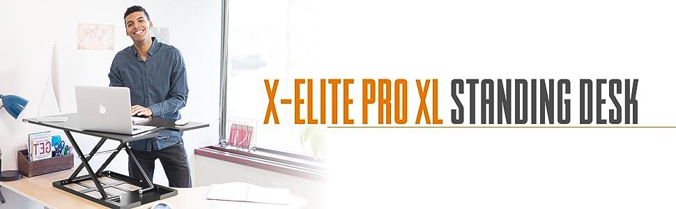 standing desk xelite xl x-elite x elite pro sit stand desk stand up desk stand steady