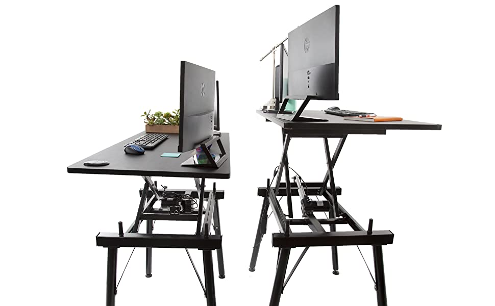 stand steady, stand steady tranzform desk, tranzform desk, height adjustable desk, electric desk