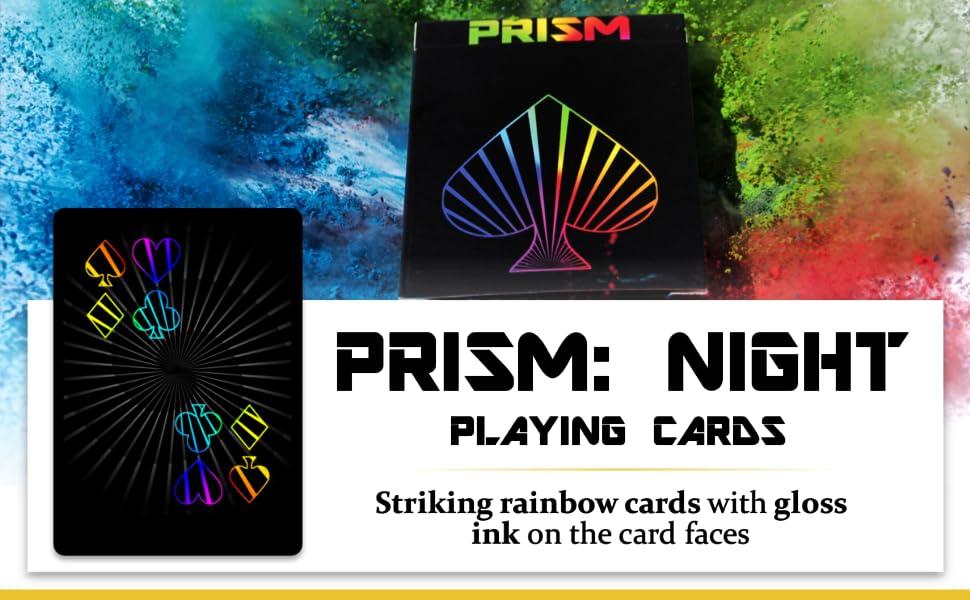 Prism Night Playing Cards
