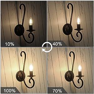 dimmable 2w bulbs