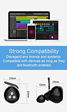 7. Adopt Bluetooth 4.1 Technology Has Strong Compatibility This Syllable D900MINI headphones adopt the newest Bluetooth 4.1 to load wider transmissibility.