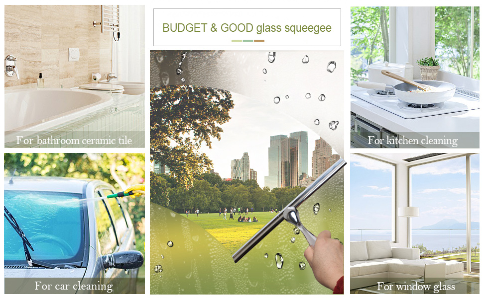 More About Our Squeegee. BUDGET U0026 GOOD Shower Glass ...