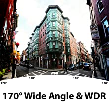 Wide angle wdr