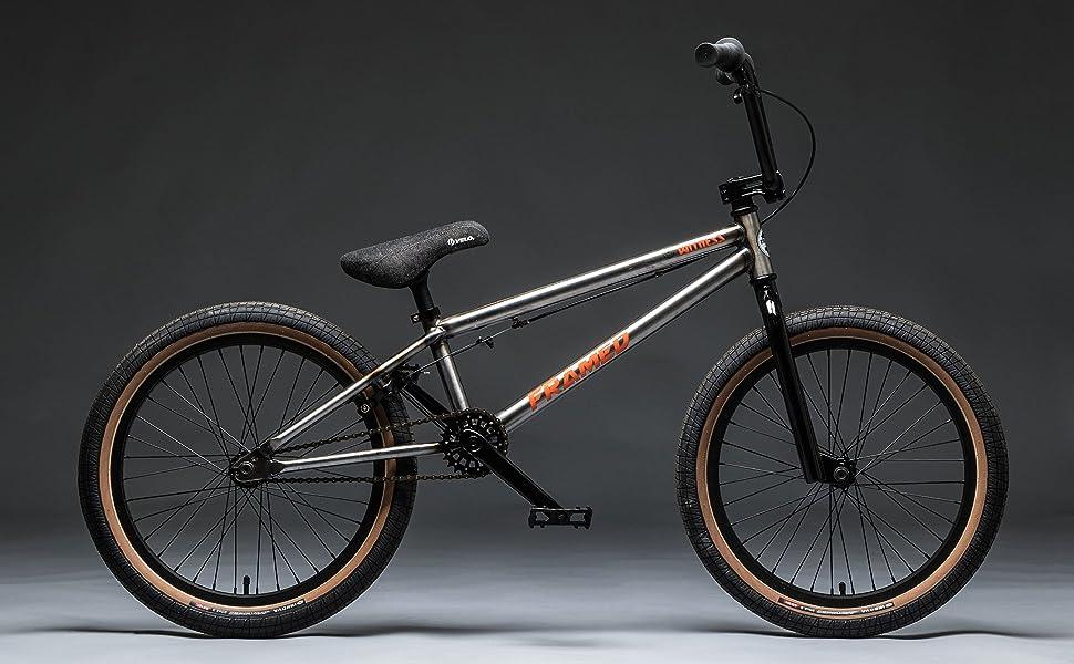 Amazon Com Framed Witness Bmx Bike Raw Sz 20in Sports