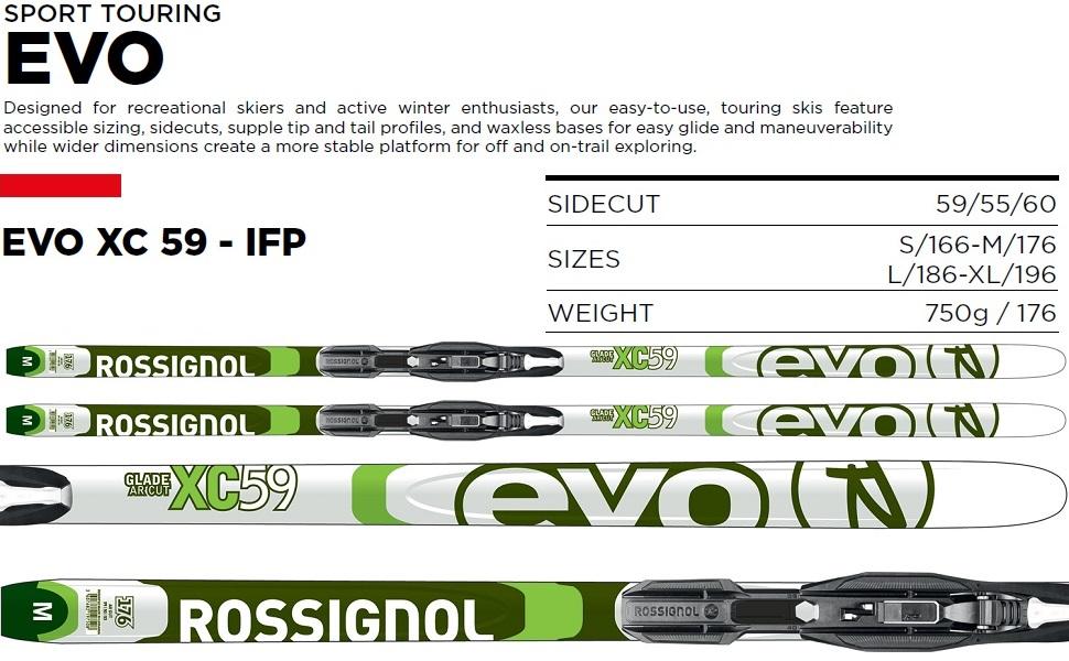 EVO XC 59 - IFP XC SKI