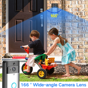 166 wide angle camera lens