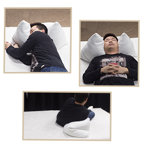 it is important to have a pillow to accomodate the natural curves of the head neck and spine the shredded memory foam pillow can be shaped and formed to