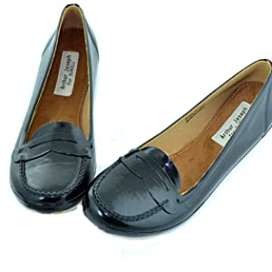 penny mocs moccasin slip on feet loafer womens shoes footwear foot surell