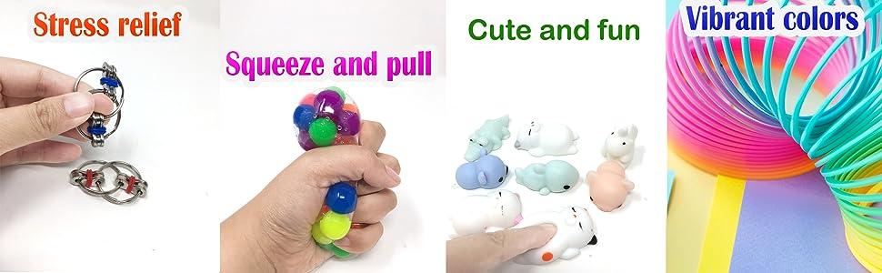 Amazon.com: Jalousie 24 piezas de juguete sensorial para ...