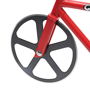Amazon Com Pizza Cutter Newness Bicycle Shape Dual Pizza