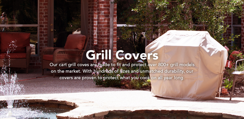Amazon Com Covermates Built In Grill Cover 36w X 26d X 14h Classic Collection Year Around Protection Black Outdoor Grill Covers Garden Outdoor