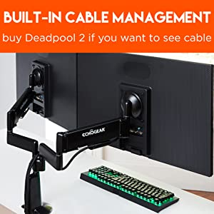 Amazon Com Echogear Premium Dual Monitor Stand Adjust