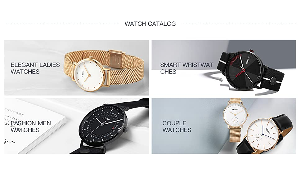 abart new design watches.