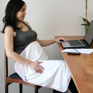 Belly Blanket Juno Maternity Blanket with Radiation Shielding Fabric