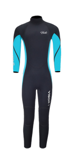 Wetsuit Kids Blue