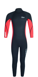 Wetsuit Kids Red