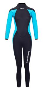 Wetsuit Women Blue