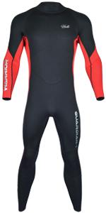 Wetsuit Men Red