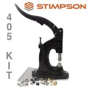 grommet machine 405 stimpson gommet eyelet