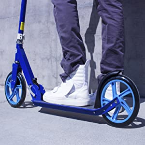 big wheel kick scooter