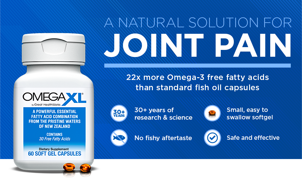 omega 3 fish oil green lipped mussel larry king joint pain inflammation omegaxl great healthworks