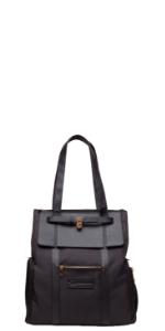 sarah wells marie breast pump bag backpack black floral back to work pumping breastfeeding
