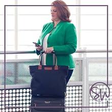 sarah wells bags black abby breast pump back to work bag nursing accessory travel