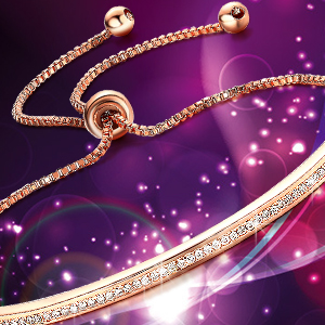 Amazon.com: Bella Lotus brazalete de cadena ajustable con ...