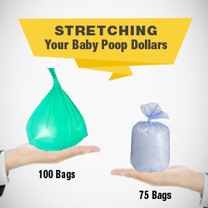 More bags per box than the leading national brand, stretch your hard earned dollars with more value