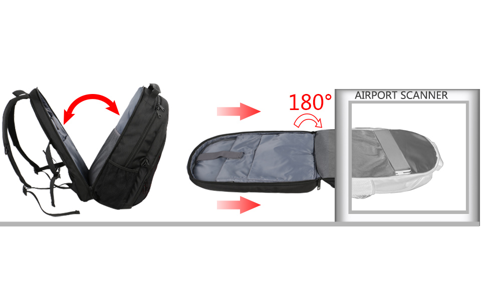 Durable Laptop Bag for Laptop Accessories Water Resistant Travel Backpack