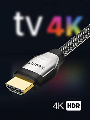 4K HDMI Cable 6ft HDR HDCP 2.2