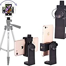 Easy operation of 360 rotating mount to get every angle necessary. landscape and portrait phone