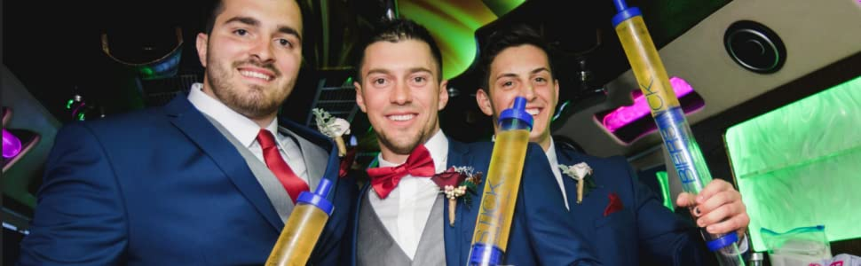 bierstick beerbong syringe shotgun tool party toy drinking device tube and funnel groomsman