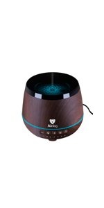 aroma diffuser for essential oils humidifier bluetooth speaker all in one water proof design