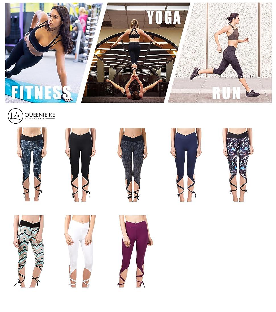Amazon.com: Queenie Ke Women's Yoga Pant Legging Capris