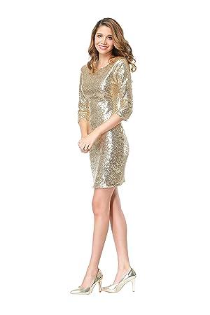 Amazon.com: TowerTree Women's Sparkle Glitter Sequin 3/4