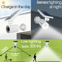 Low-lighting lasts 3 days