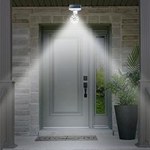 Drawgreen Dg08 A Solar Outdoor Motion Sensor 1400 Lumens