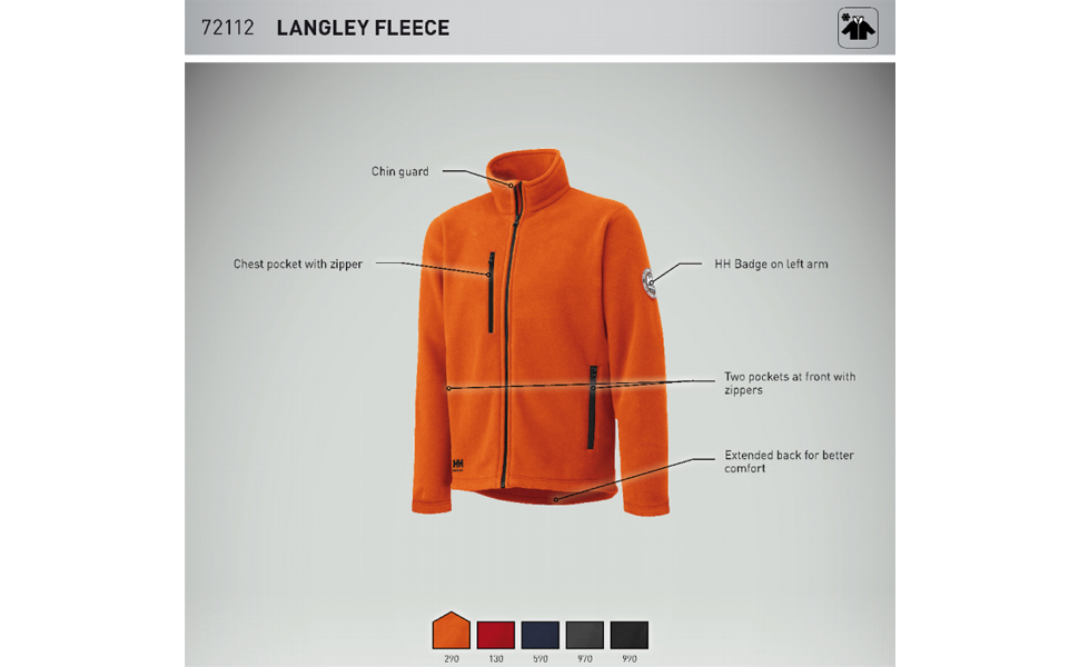 Amazon.com: Helly Hansen Workwear Langley - Chaqueta de ...