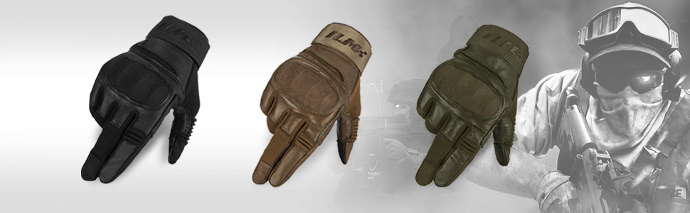 Tactical Gloves Touchscreen Military Shooting Combat Airsoft Heavy Duty Knuckle Motorcycle ATV MTV