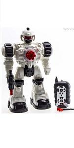 Amazon.com: WolVol Espacio Astronauta Robot Juguete con ...