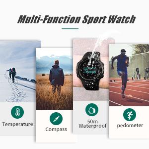 multifunction sports watch