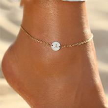 letter anklet bracelet