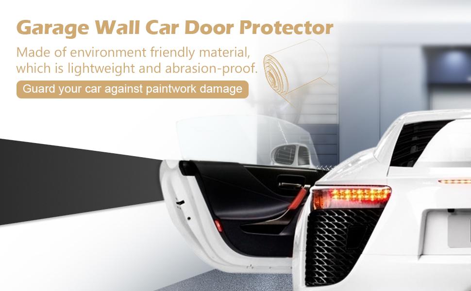 garage door protectorAmazoncom GHB Garage Car Door Protector Garage Wall Protector